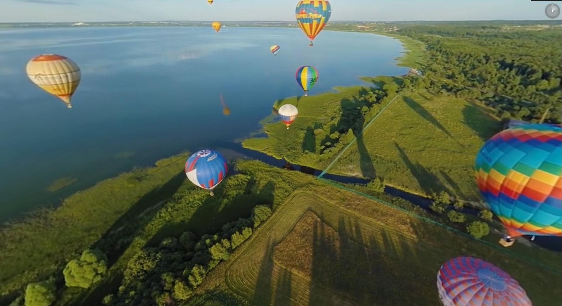 festival montgolfières