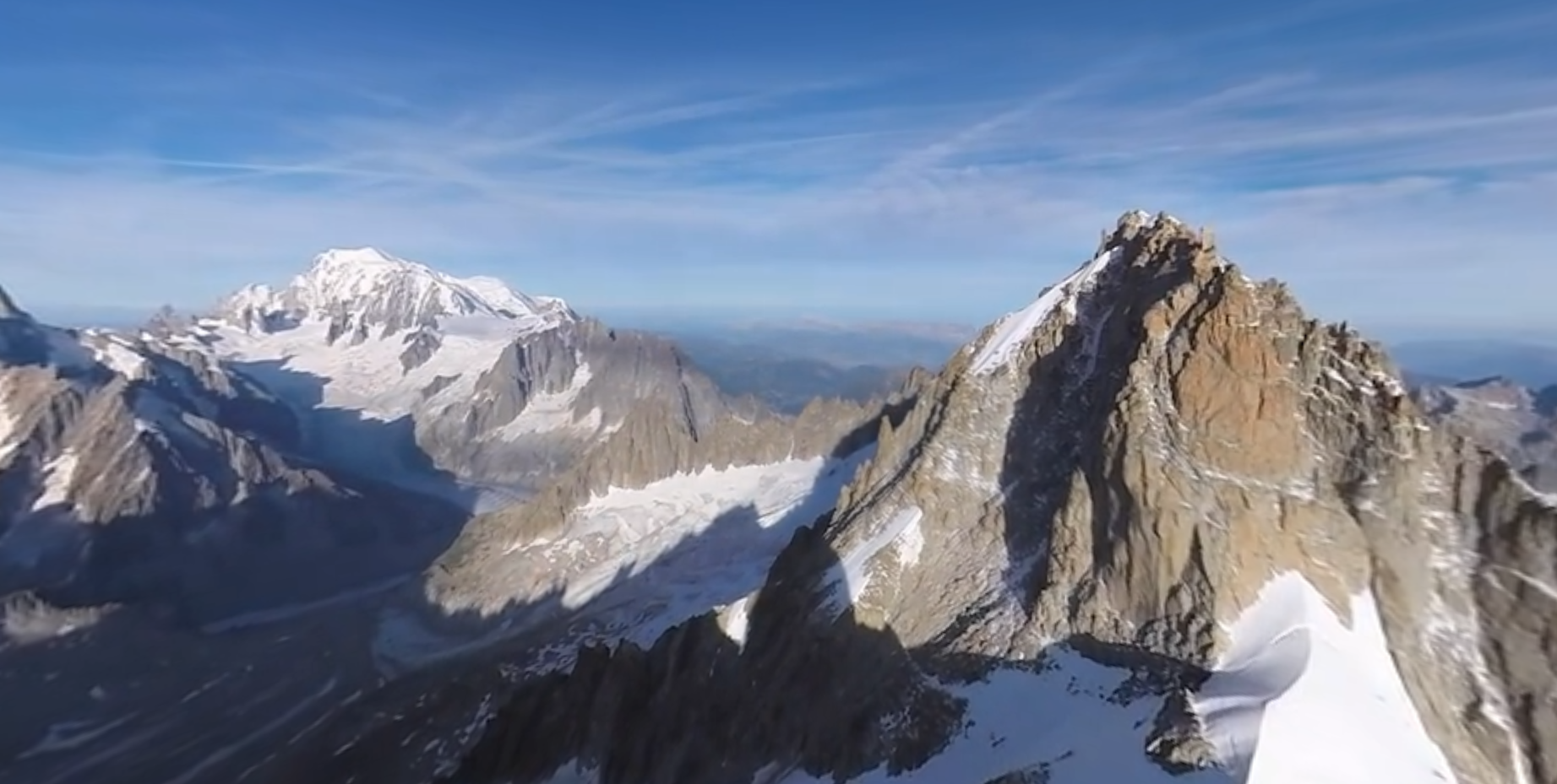 Mont Blanc Italie-France