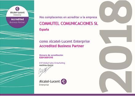Distribuidor certificado homologado Alcatel 2018