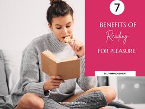 7 Benefits of reading for pleasure