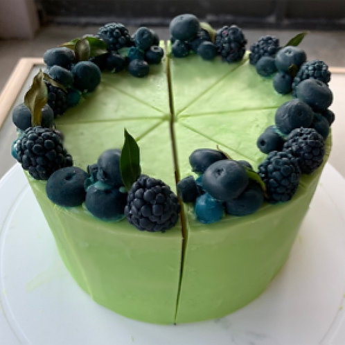 Blueberry & Lemon Verbena Whole Cake