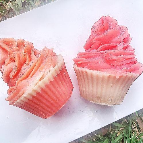 Pink Sugar Cupcakes