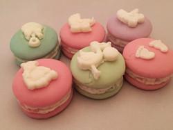 Baby Shower Macarons