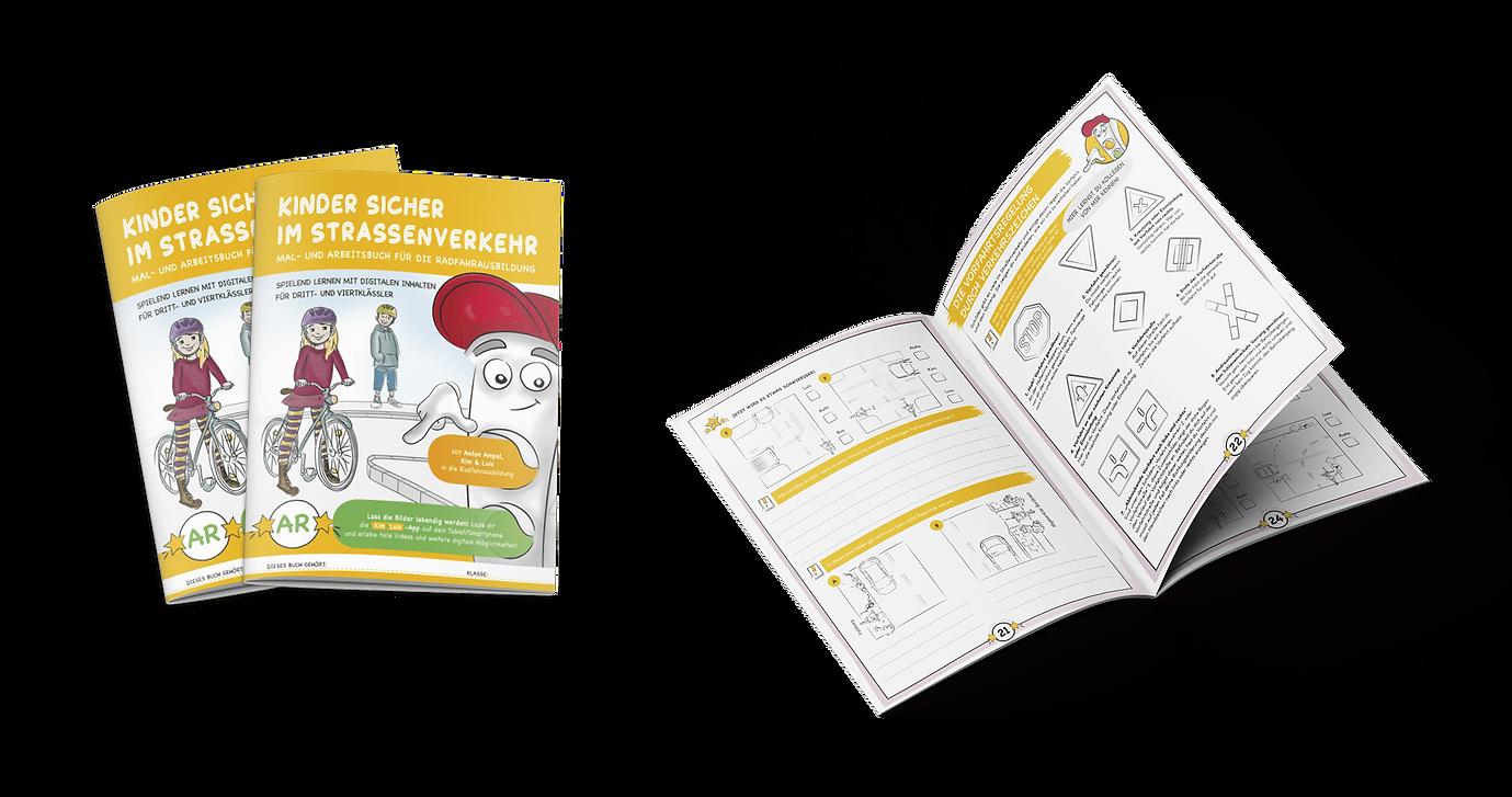 Kinder sicher durch den Straßenverkehr - Heft - K&L Verlag