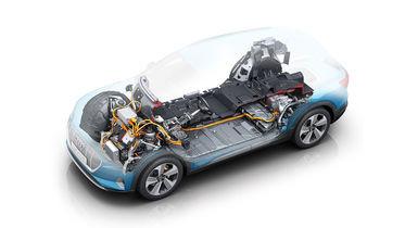 Ein Akku von einem E-Auto hat meist eine Garantie von 8 Jahren, sowie von mehr als 100.000 Km.