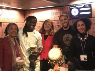 BBC World Service Radio - Talking Drums of West Africa!