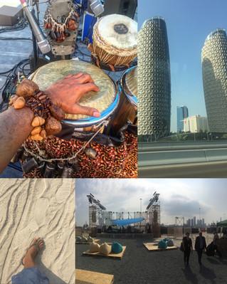 Abu Dhabi with Mulatu!