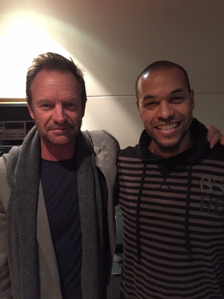 Abbey Road Studio Session with STING!