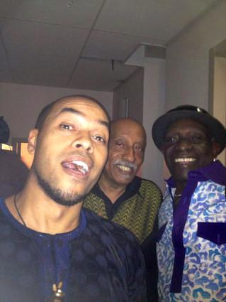 Mulatu Astatke and Tony Allen in Paris!