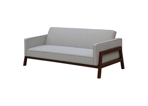 Wood Frame Convertible Sofa Futon - Threshold
