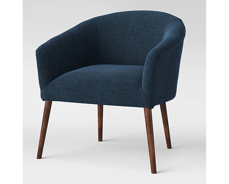 Project 62 Navy Barrel Chair