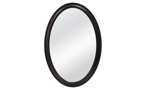 Threshold Oval Beaded Mirror