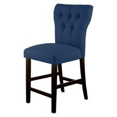 Blue Marlowe Counter Stool