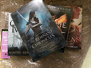 The Remnant Chronicles (paperback set), Onyx & Ivory, Flame in the Mist, Enchantment of Ravens
