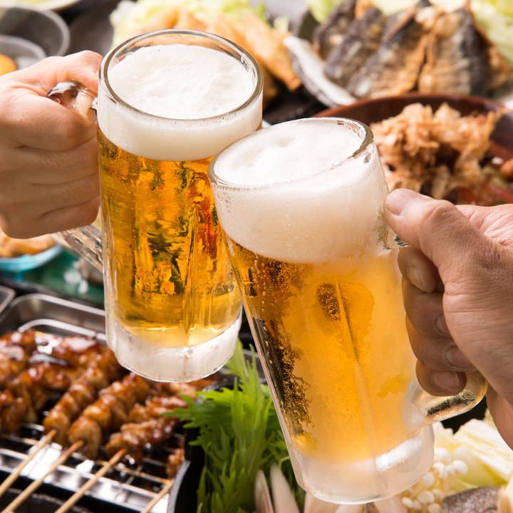 飲み放題付き3000円~宴会のご予約も承ります!