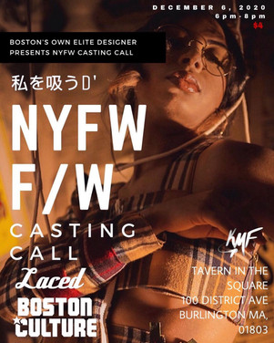 Local Designer to Host NYFW CASTING CALL!