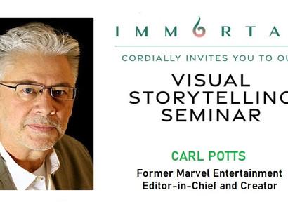 Carl Potts, former Marvel Exec: Visual Storytelling Presentation