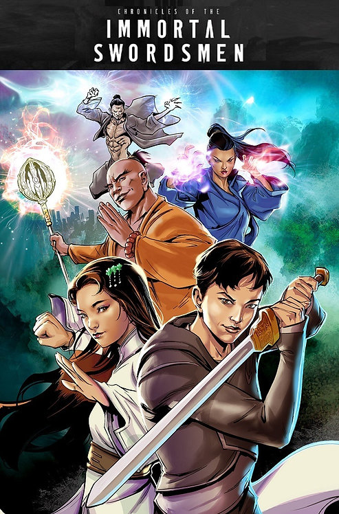 Chronicles of the Immortal Swordsmen #1 - PRINT