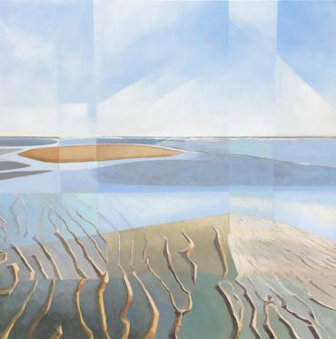 Calm Waters acrylic on canvas  70x70 cm