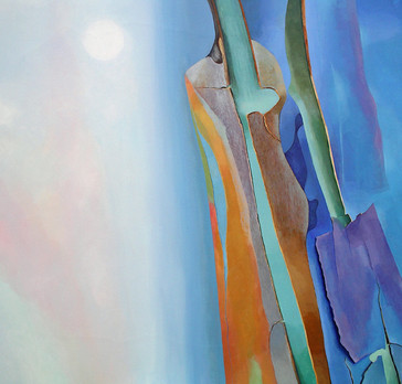 Autumn Equinox  -           Sold acrylic on canvas 100x100 cm