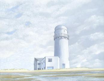 Lighthouse acrylic on canvas  46x40 cm