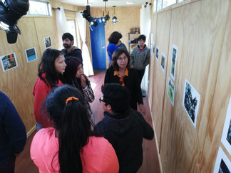"""En la localidad de Contuy, finalizan talleres sobre """"Imaginario, territorio y museos"""""""