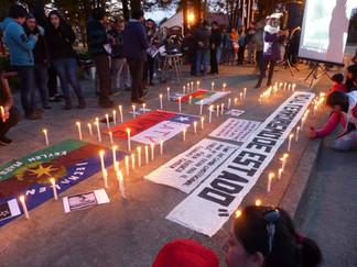 Queilinos y queilinas se pliegan a protesta nacional y se manifiestan pacíficamente