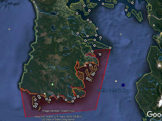 Reflotan los temores: Cierran área sur de Isla Tranqui por presencia de Marea Roja