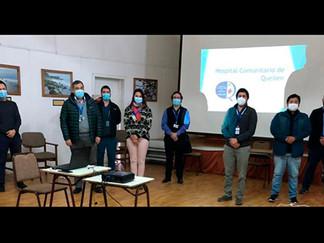 Hospitales de Queilen y Quellón se coordinan para abordar gestión de listas de espera