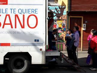 Vacunatorio móvil visitará la comuna de Queilen el 2 de junio