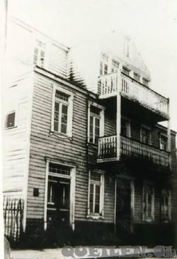 Casa de don Benjamín Gomez Alderete