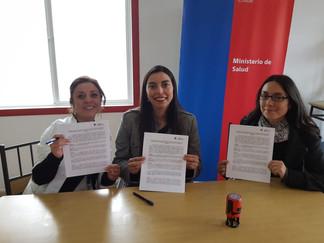 Hospitales de Quellón y Queilen firman convenio que beneficiará a usuarios queilinos