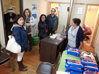 Servicio de Salud Chiloé visitó Posta de Pureo que está siendo habilitada tras incendio