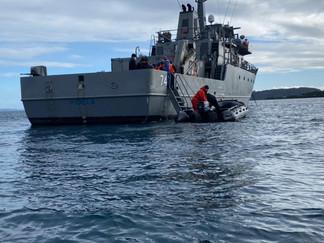 """Patrullero """"Cirujano Videla"""" realizará ronda médica en islas Tranqui y Acuy"""