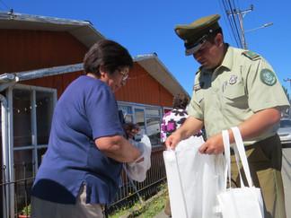 Carabineros de Queilen se suman al cuidado del Medio Ambiente