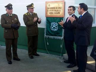 Inauguran nuevo Retén de Carabineros en Queilen