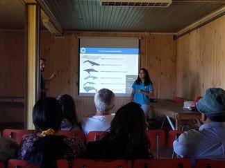 Queilen: Realizan Jornada de Educación Ambiental respecto a avistamiento de ballenas en Chiloé