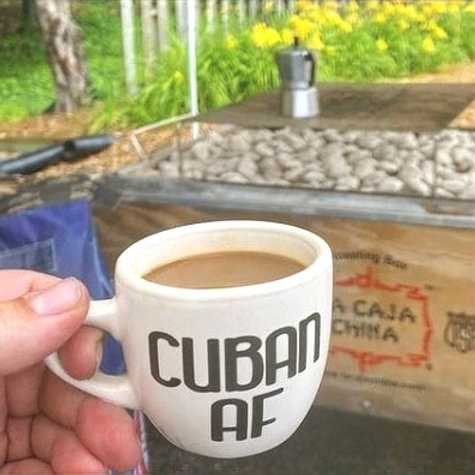 Customized Cafecito Cup