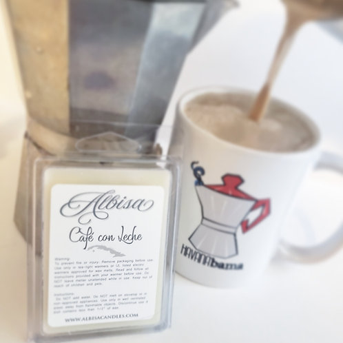 Cafe Con Leche Wax Melts