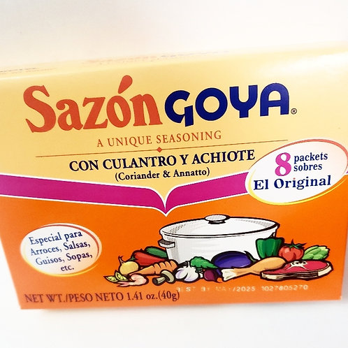 Sazón Goya Seasoning Packets