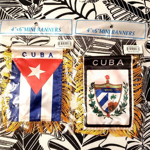 "4""x6"" Cuban Mini Flag"