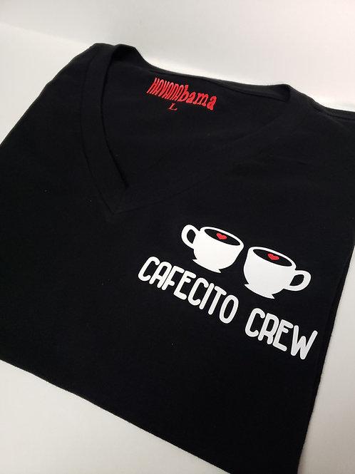 Cafecito Crew [V Neck Shirt]