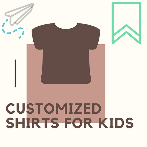 Customized Kids Shirts