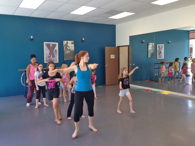 Teaching Musical Theater Dance at Los Angeles Arts Collective