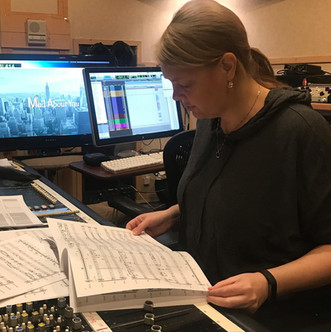 CJ producing Mad About You scoring sessi