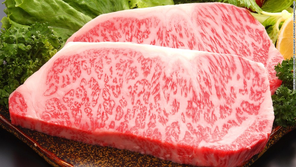 Wagyu Steak Marbling
