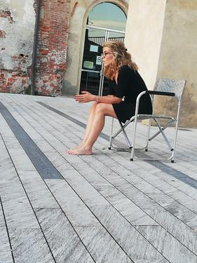 Cortile Castello - Selfie