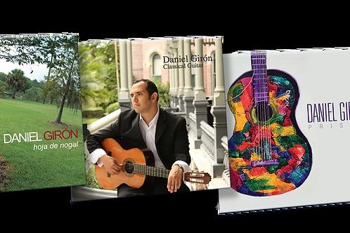 Three CD's , Prisma Hoja de Nogal And Classical Guitar