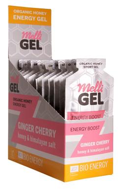 Melligel Ginger Cherry Organic Honey Spo