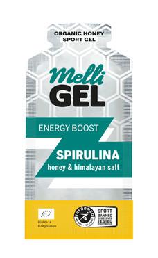 MelliGel Spirulina Organic Honey Sport Gel